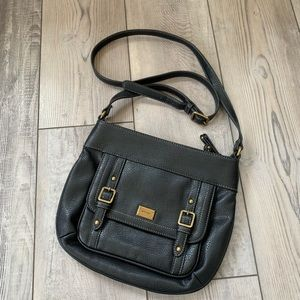Nine West cross body satchel vegan leather NWOT